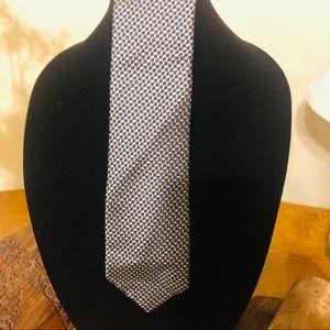 Michael Kors Tie 100% Silk Men's Navy Necktie